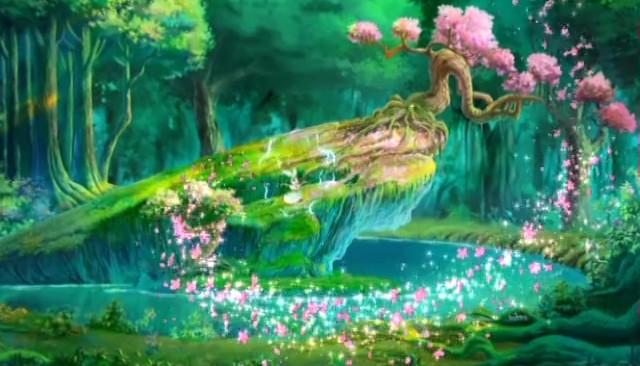 玉兔の森1