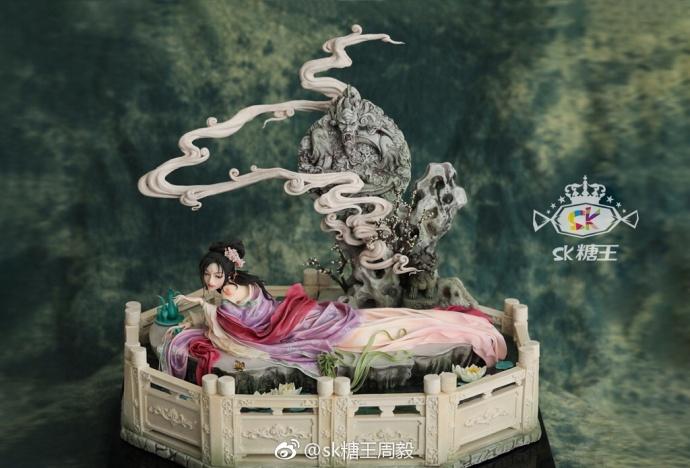 中国のシュガークラフトフィギュアが繊細で凄すぎる 「武則天」